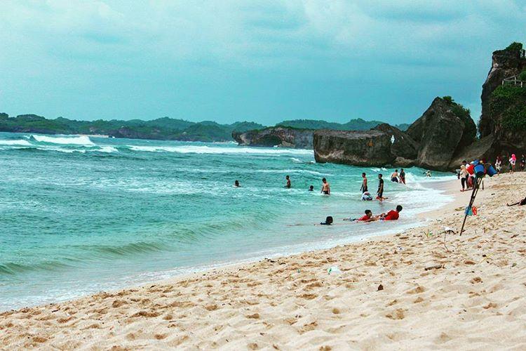 Jogja, Macet dan Potensi Wisata Yang Aduhai - Pantai Indrayanti sumber ig rayhanfasya23